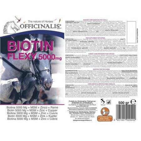 Complemento alimenticio  Officinalis Flexi Biotine  5000 (500 ml)