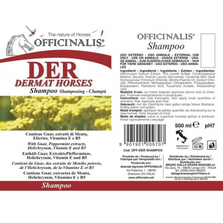 Champú caballo Officinalis DER (Dermatitis Estival Reincidente Equina)