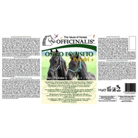 Alimento complementario OFFICINALIS® Osteo Equiseto