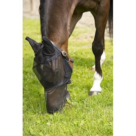 Mascara anti-moscas para caballo filete fino