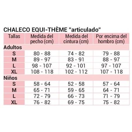 Chaleco protector de equitación Equi-Thème  Articulado