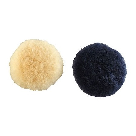 Circulo de borreguito natural para muserola cruzada de C.S.O.