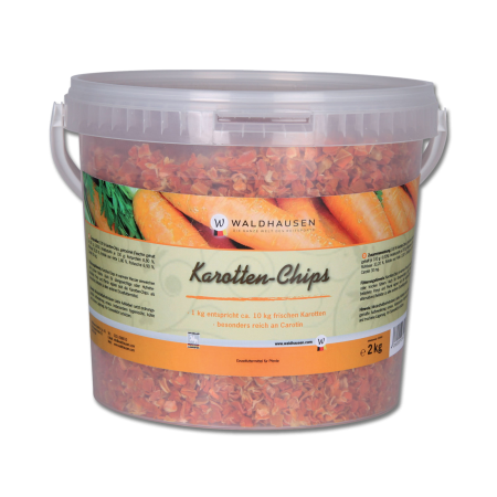 Copos de zanahoria, complemento alimenticio 2 kg