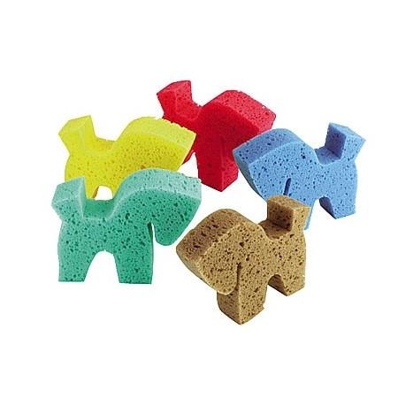 Esponja con forma de caballo