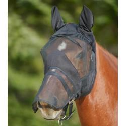 Máscara anti-moscas Premium con protección para orejas y nariz