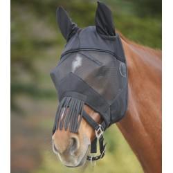 Máscara anti-moscas Premium con mosquero en la nariz