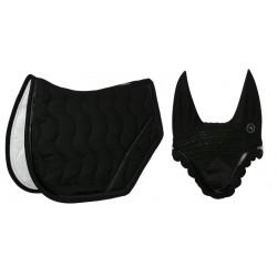 Pack mantilla y orejera anti-moscas caballo EquiThème Jump