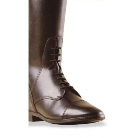 Botas de piel con cordones de Equicomfort