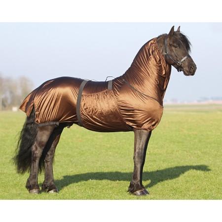 Manta anti-eczema caballo Frisón QHP