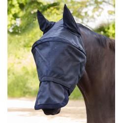 Máscara anti-moscas Premium Space con protección para orejas y nariz de Waldhausen