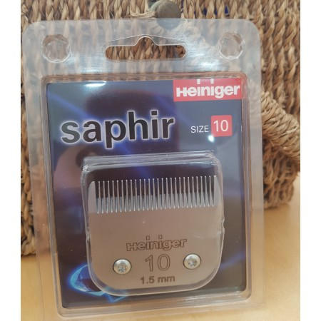 "Cuchillas para máquina esquilar de caballo ""Saphir"" de Heiniger"