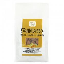 Caramelos HIPPOTONIC para caballo sabor Plátano y Zanahoria