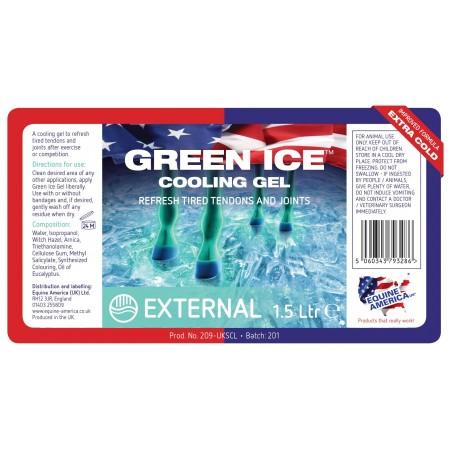 GREEN ICE GEL™ para los tendones del caballo 1,5l