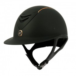 "Casco EQUIT'M ""Elégance"" Rose Gold"
