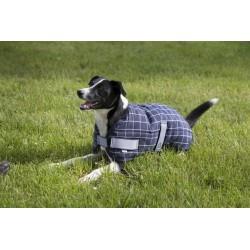 Manta de invierno para perro  Diego & Luna con cuadros de Equi-Thème