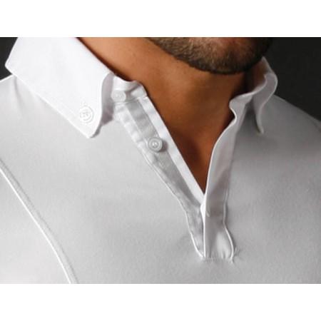Polo manga larga con botones en el cuello de Razza Pura