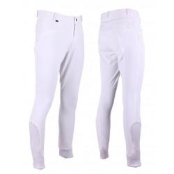 Pantalones de equitación Luc para hombre con grip de rodilla de QHP