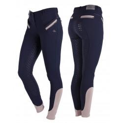 Pantalones de montar Bliss con fondo de silicona para mujer de QHP