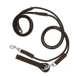 Riendas alemanas para caballo de lona y cuerda de NORTON PRO