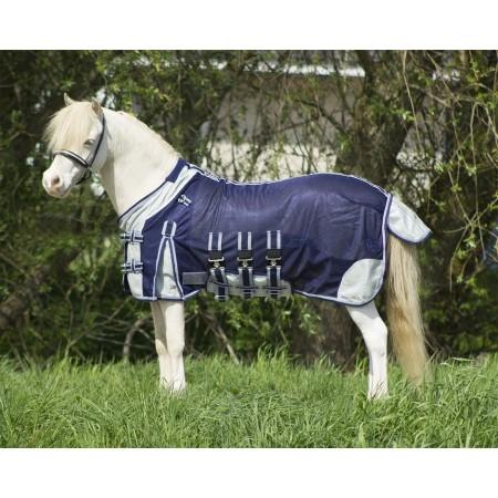 Manta anti-moscas QHP poni shetland