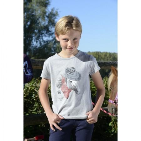 Camiseta manga corta Cowboy de Equi-Kids