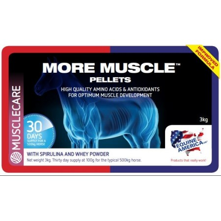 MORE MUSCLE™ PELLETS para la capacidad muscular 3 kg