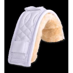 Protección con borreguillo para muserola o barbada