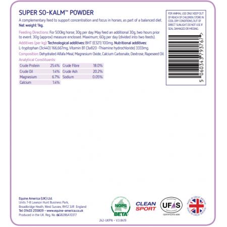 SUPER SO-KALM® en polvo 1kg