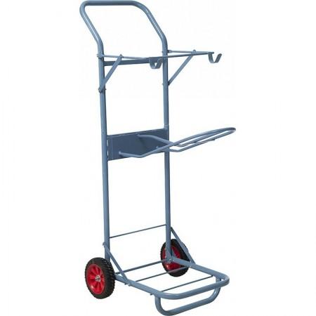 Carrito porta silla de montar