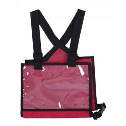 OT Porta dorsal Q-Cross de QHP Rojo