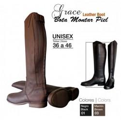 Botas de equitación de piel Grace