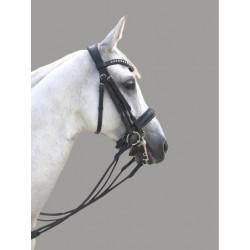 Brida de Doble Rienda Olimpia Passage de Sport&Horse