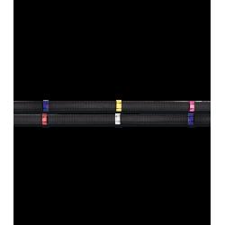 Riendas Antideslizantes X-Line con Topes de Colores de Waldhausen