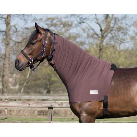 Cubrecuello de algodón para caballo...