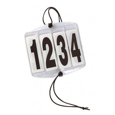 Brazalete con número identificativo para competición