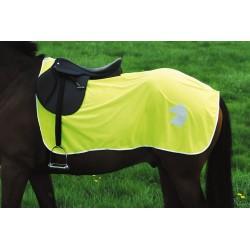 Manta riñonera para caballo reflectante