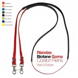 Riendas Biotane con goma