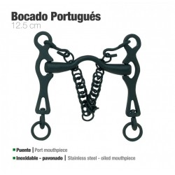 Bocado portugués Zaldi inox...