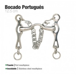 Bocado portugués inox Zaldi...