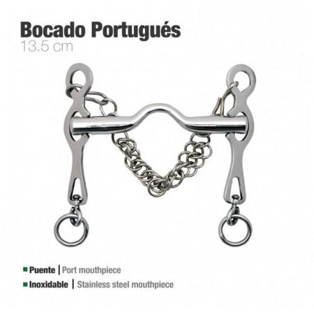 Bocado portugués Zaldi inox Rocio...