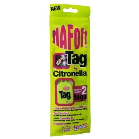 Pendiente repelente de insectos Tag de Naf Off