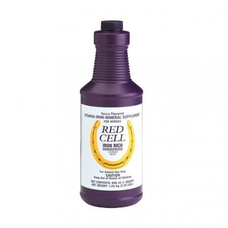 Red Cell líquido, suplemento de alto rendimiento para caballos