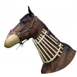 Collar de madera para caballos