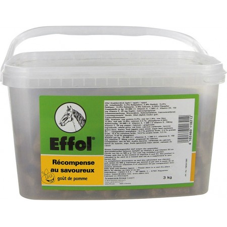 Caramelos crujientes para caballo de Effol (cubo 3kg)
