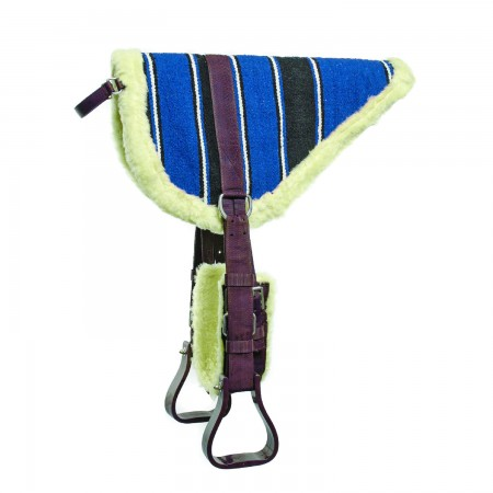 Bareback para caballo tejido navajo...