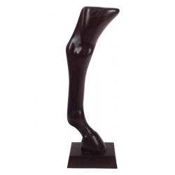 Expositor pata posterior de un caballo de P.V.C.