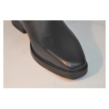 Botas de piel de doma (adulto) con puntera cuadrada