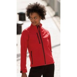 Chaqueta mujer Softshell impermeable y transpirable