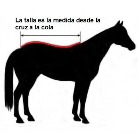 Manta caballo quadra quarter horse 350 g Umbria Houston