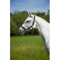 Cabezada cuadra caballo Equitheme muserola cuerda